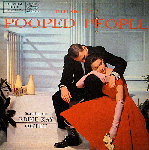 vintage music pooped people record cover