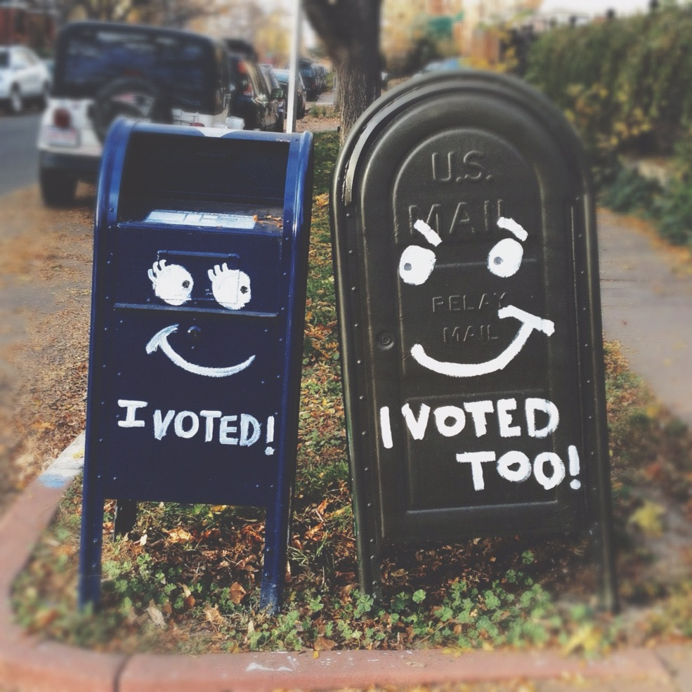 cute voting mailboxes
