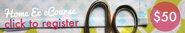 learn to sew online home ec
