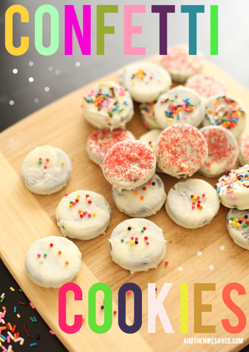 how to make confetti cookies