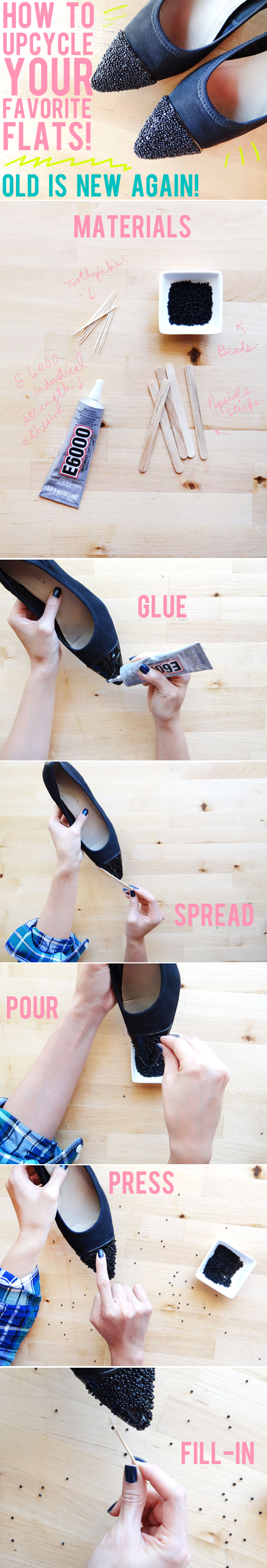 how to upcycle shoes