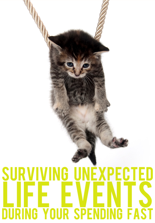 surviving unexpected life events
