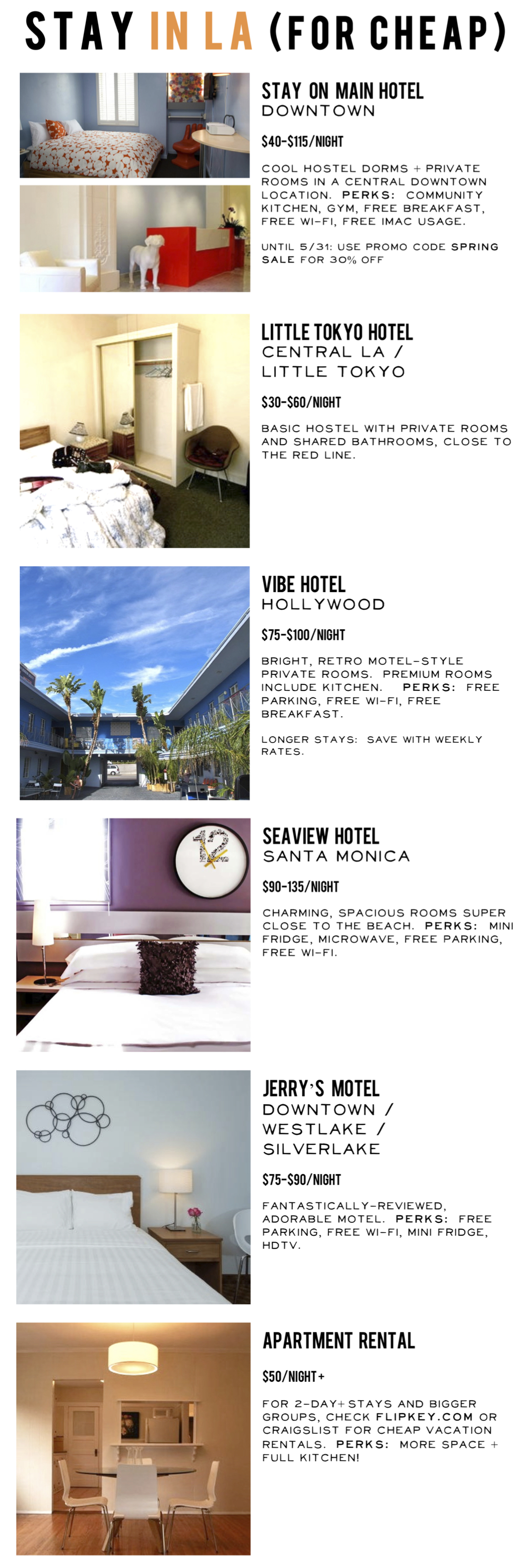 Cheap LA hotels