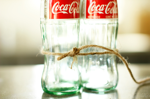 Coke Bottle Vase How-To