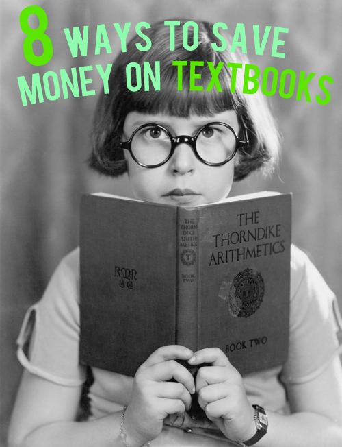 ways to save money on textbooks