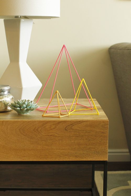 DIY Geometric Sculpture