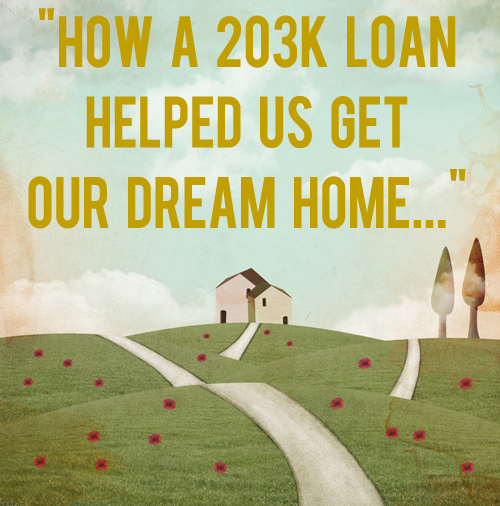 how a 203k loan helped us get our dream home