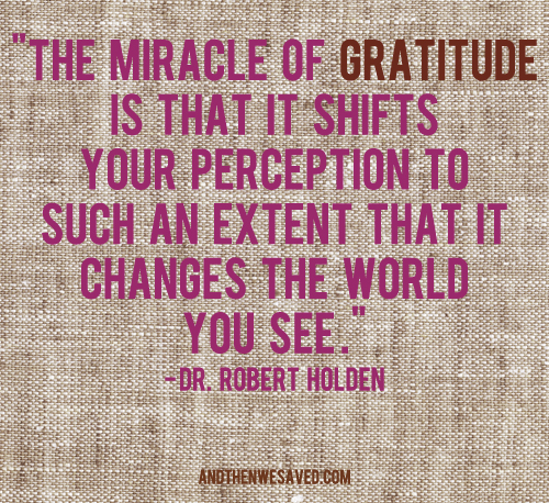 the miracle of gratitude