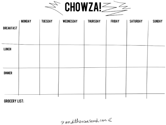 Lets Plan Some Meals A Whole Slew Of Meal Planning Templates