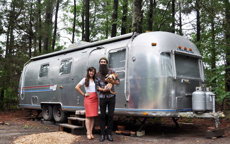 Airstream Family Spending Diet andthenwesaved.com