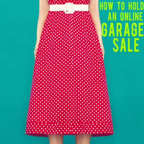how to hold an online garage sale andthenwesaved.com