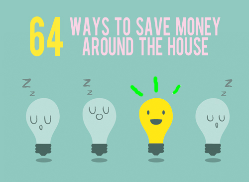 64 ways to save money around the house andthenwesaved.com