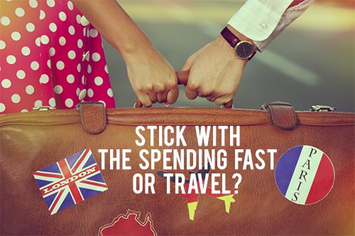 what do you think? spending fast or travel andthenwesaved.com