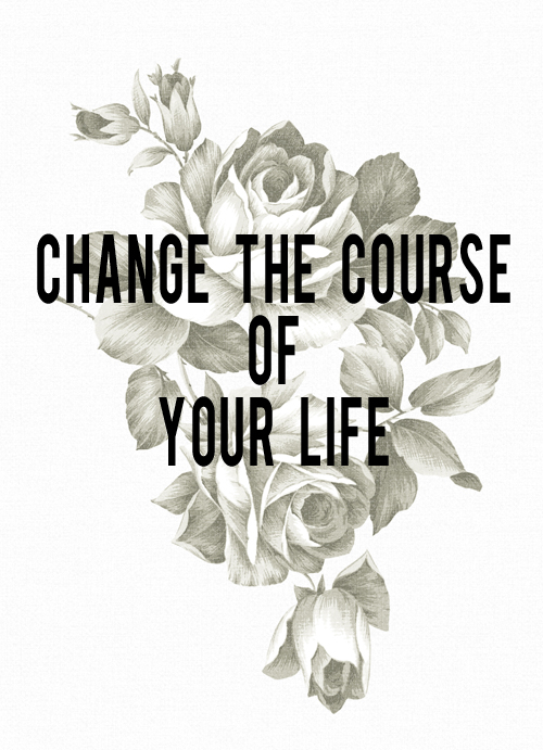 Change the Course of Your Life | And Then We Saved