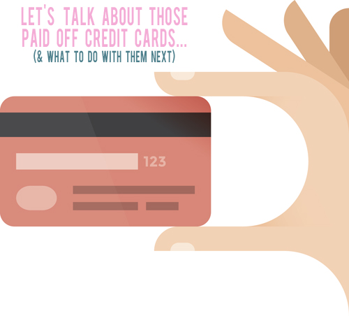 Should you close your paid off credit card? | AndThenWeSaved.com