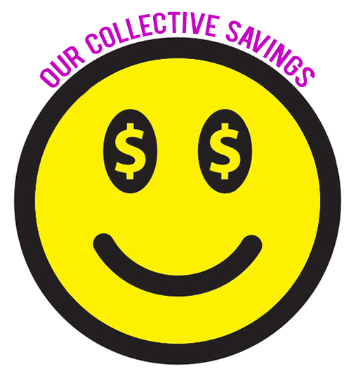 andthenwesaved spending fast spending diet collective savings