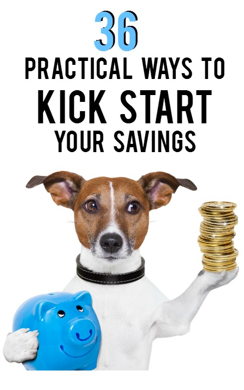 36 Practical Ways to Kick Start Your Savings | AndThenWeSaved.com