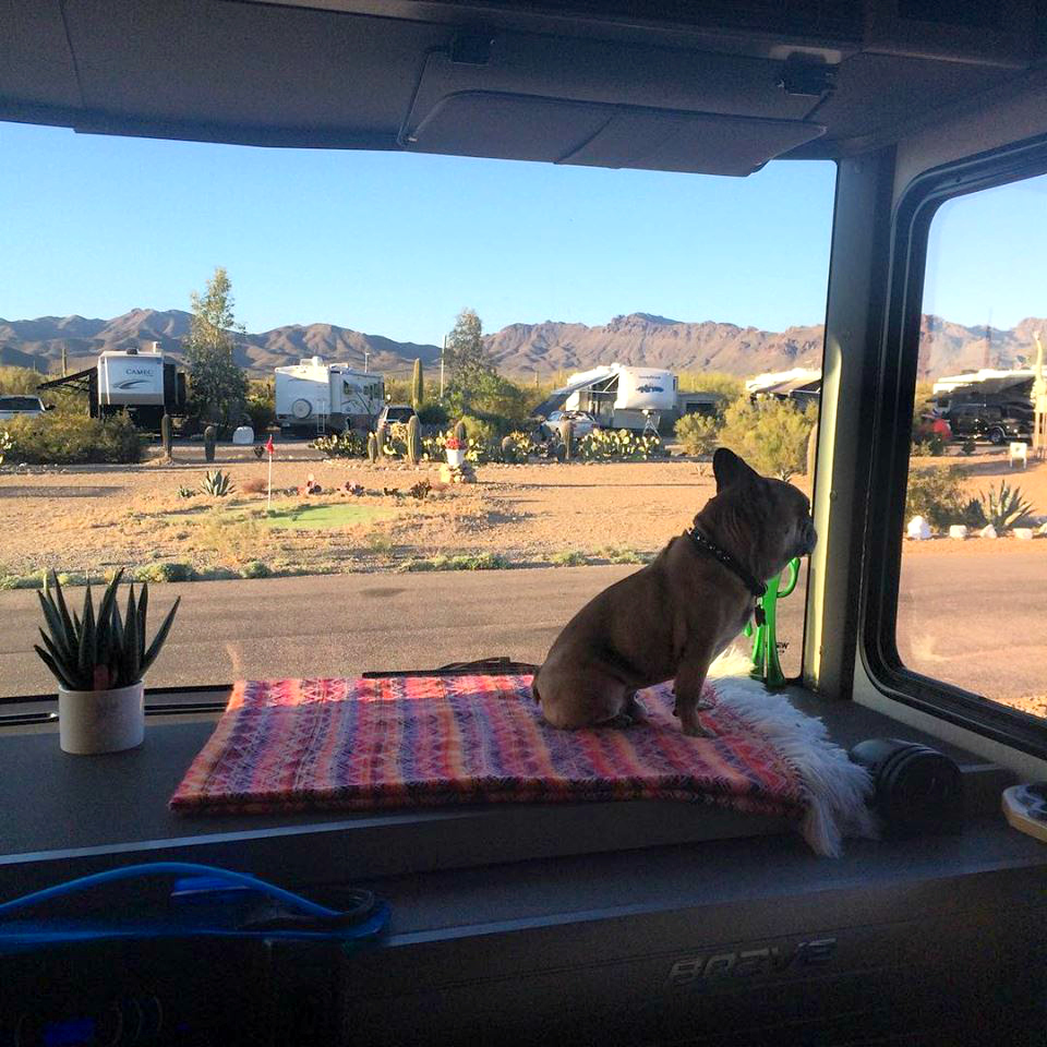 Living Tiny: Michelle and Wes' Home on Wheels | AndThenWeSaved.com