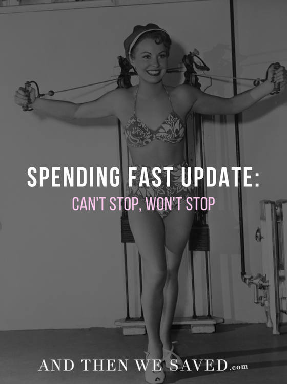 Annie's Spending Fast Update | AndThenWeSaved.com