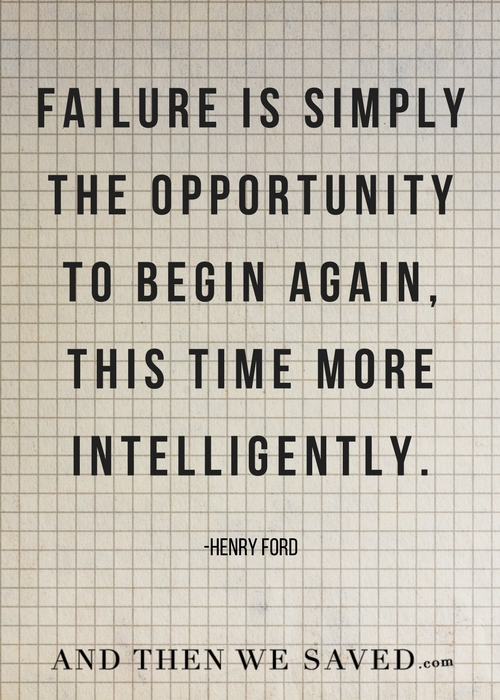 The opportunity to begin again