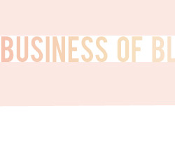 the business of blogging and then she saved 051812