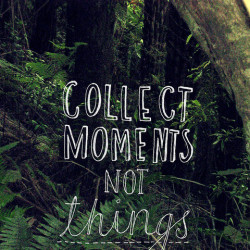 collect moments not things 062412