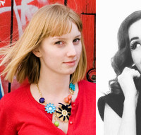 left: megan hunt, right: sarah lorsung tvrdik