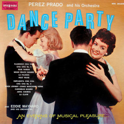 vintage music record dance party