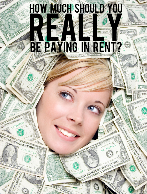 how much should your rent be