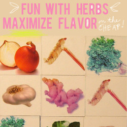 using herbs to maximize flavor