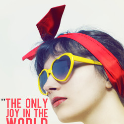 the only joy in the world is to begin