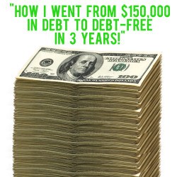 150k to debt-free in 3 years