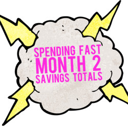 spending fast savings totals