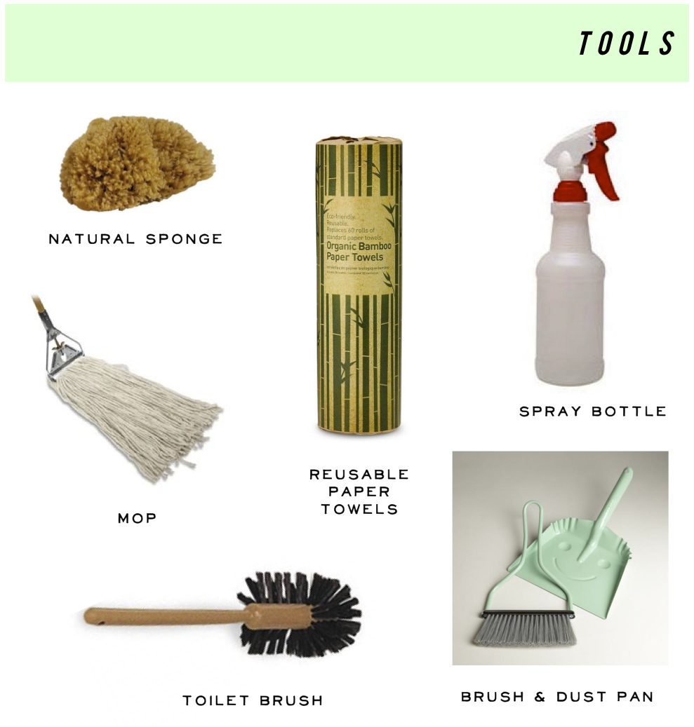 cheap green cleaning tools