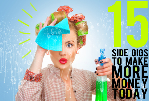 15 side gigs to make more money