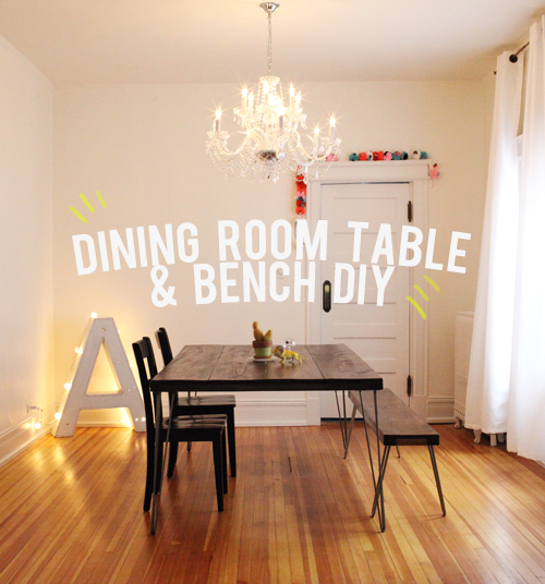 dining room table and bench diy. Interior Design Ideas. Home Design Ideas