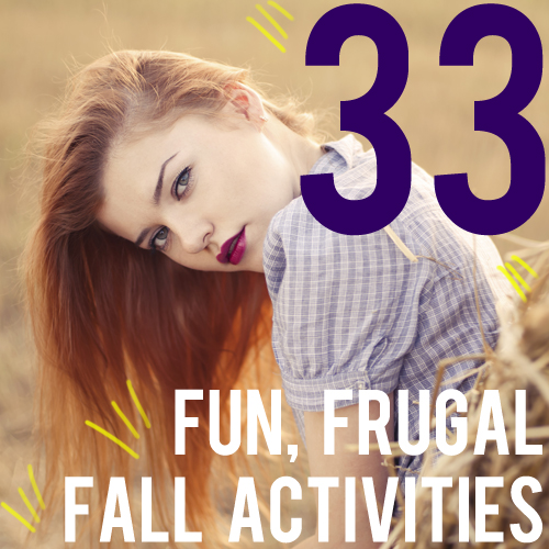 33 fun frugal fall activities