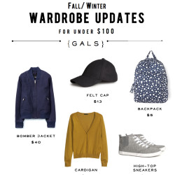 Cheap Fall Wardrobe Updates - And Then We Saved