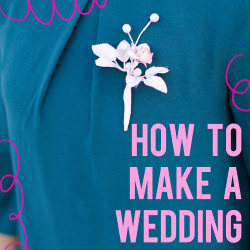 How to Make A Wedding Boutonniere