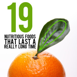 healthy foods that last a long time