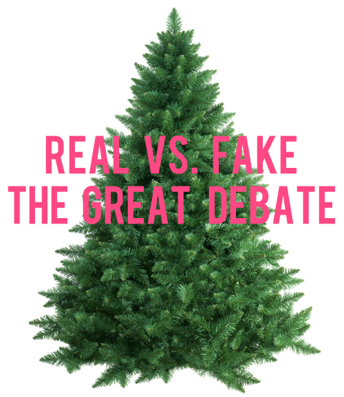 Let's Talk Christmas Tree Costs: Real Vs. Fake - And Then We Saved