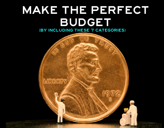 make the perfect budget