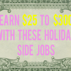 holiday side jobs andthenwesaved.com