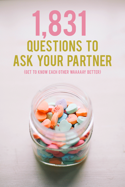 Questions To Ask To Fall In Love