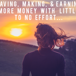 Saving Making and Earning More Money with Little to No Effort andthenwesaved.com