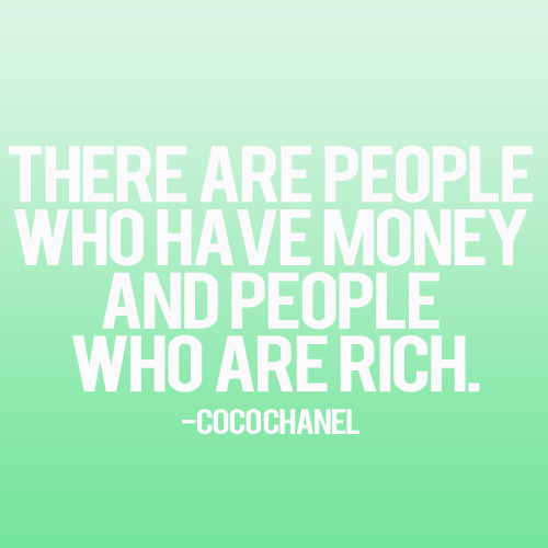 People Who Are Rich