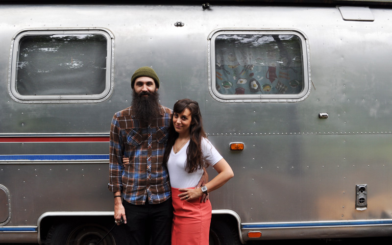 Living Tiny George and Melanies Airstream House Tour And