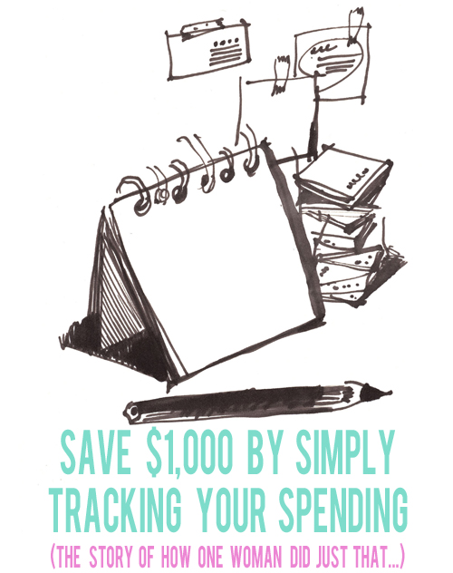 Save $1,000 by Simply Tracking Your Spending | AndThenWeSaved.com