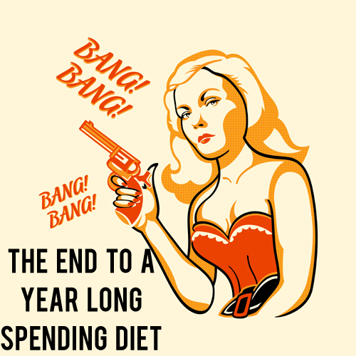 The End to a Year Long Spending Diet | AndThenWeSaved.com