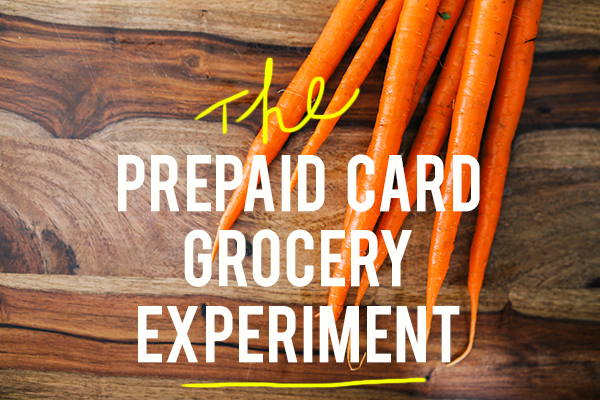 prepaid card grocery experiment andthenwesaved.com